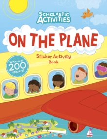 On the Plane Sticker Activity Book, Paperback Book