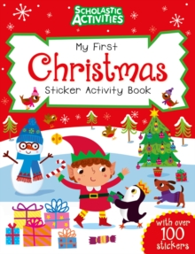 My First Christmas Sticker Activity Book, Paperback Book