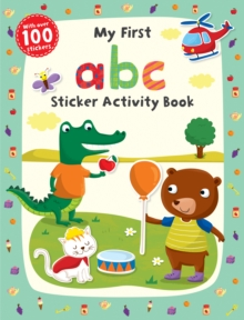 My First abc Sticker Activity Book, Paperback / softback Book