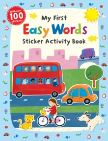 My First Easy Words Sticker Activity Book, Paperback Book
