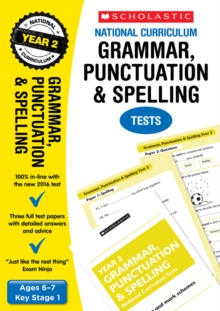 Grammar, Punctuation and Spelling Test - Year 2, Paperback / softback Book