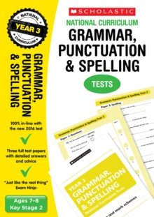 Grammar, Punctuation and Spelling Test - Year 3, Paperback / softback Book