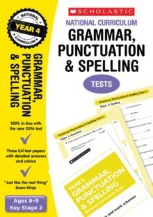 Grammar, Punctuation and Spelling Test - Year 4, Paperback / softback Book