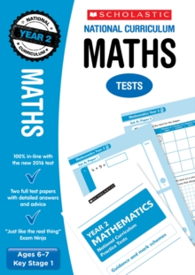 ` Maths Test - Year 2, Paperback Book