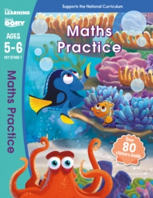 Finding Dory - Maths Practice, Ages 5-6, Paperback Book