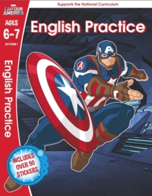 Captain America: English Practice, Ages 6-7, Paperback Book