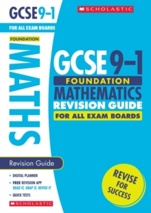 Maths Foundation Revision Guide for All Boards, Paperback Book