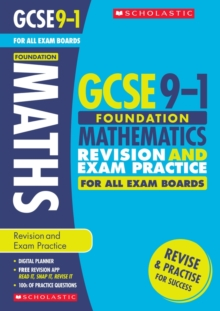 Maths Foundation Revision and Exam Practice Book for All Boards, Paperback Book