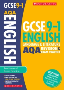 English Language and Literature Revision and Exam Practice Book for AQA, Paperback Book