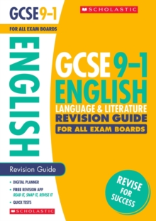 English Language and Literature Revision Guide for All Boards, Paperback Book