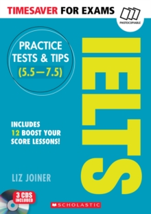 Practice Tests & Tips for IELTS, Mixed media product Book