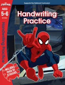 Spider-Man: Handwriting Practice, Ages 5-6, Paperback / softback Book