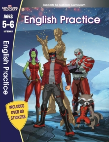 Guardians of the Galaxy: English Practice, Ages 5-6, Paperback Book