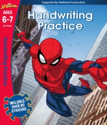 Spider-Man: Handwriting Practice, Ages 6-7, Paperback Book