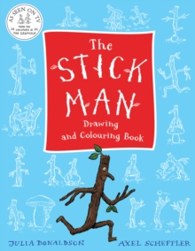 The Stick Man Drawing and Colouring Book, Paperback Book