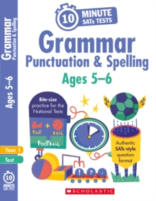 Grammar, Punctuation and Spelling - Year 1, Paperback Book