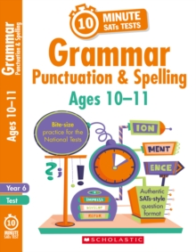 Grammar, Punctuation and Spelling - Year 6, Paperback Book