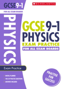 Physics Exam Practice Book for All Boards, Paperback Book