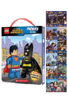 LEGO DC Superheroes: Phonics Box Set 2, Paperback Book