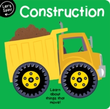 Let's Spin: Construction, Board book Book