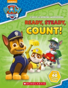 Paw Patrol: Ready, Steady, Count!, Paperback Book