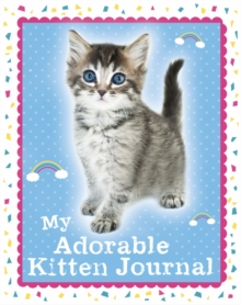 My Adorable Kitten Journal, Hardback Book