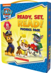 Ready, Set, Read! 12 book phonics box, Hardback Book