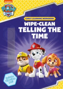 Wipe-Clean Telling the Time, Paperback / softback Book