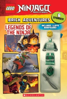 LEGO Ninjago: Legends of the Ninja, Mixed media product Book