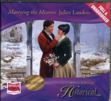 Marrying the Mistress, CD-Audio Book