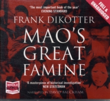 Mao's Great Famine, CD-Audio Book