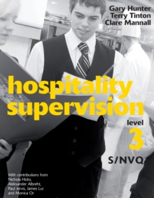 Hospitality Supervision S/NVQ Level 3, Paperback Book