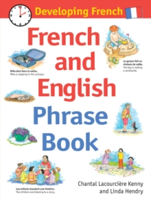 Developing French : French and English Phrase Book, Hardback Book