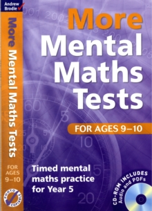 More Mental Maths Tests for Ages 9-10 : Timed Mental Maths Practice for Year 5, Mixed media product Book