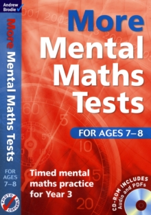 More Mental Maths Tests for Ages 7-8 : Timed Mental Maths Practice for Year 3, Mixed media product Book