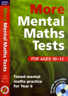 More Mental Maths Tests for Ages 10-11 : Timed Mental Maths Practice for Year 6, Mixed media product Book