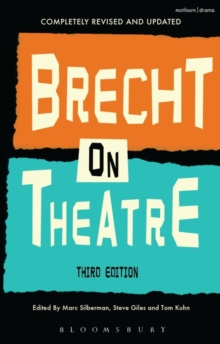 Brecht On Theatre, Paperback Book