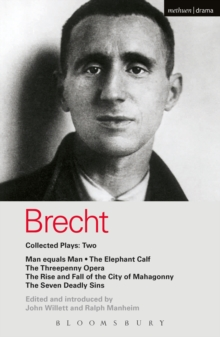 Brecht Collected Plays: 2 : Man Equals Man; Elephant Calf; Threepenny Opera; Mahagonny; Seven Deadly Sins, EPUB eBook