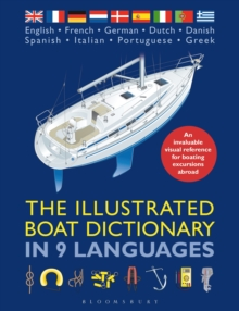 The Illustrated Boat Dictionary in 9 Languages, Paperback Book
