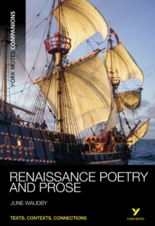 York Notes Companions: Renaissance Poetry and Prose, Paperback / softback Book