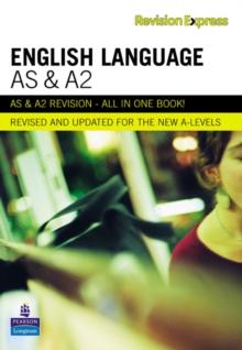 Revision Express AS and A2 English Language, Paperback Book