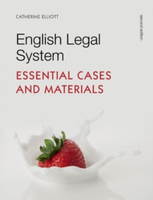 English Legal System : Essential Cases and Materials, Paperback Book