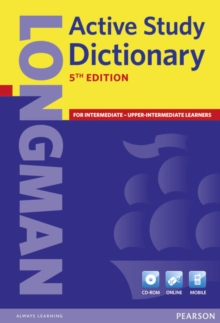Longman Active Study Dictionary 5th Edition CD-ROM Pack, Mixed media product Book