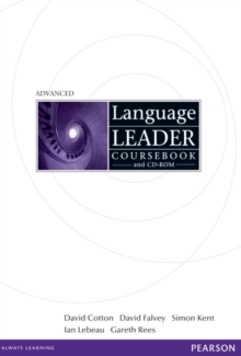 Language Leader Advanced Coursebook and CD Rom Pack, Mixed media product Book