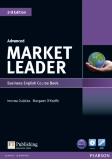 Market Leader 3rd Edition Advanced Coursebook & DVD-Rom Pack, Mixed media product Book