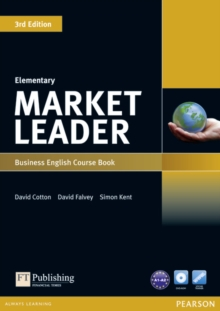 Market Leader 3rd Edition Elementary Coursebook & DVD-Rom Pack, Mixed media product Book