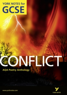 AQA Anthology: Conflict - York Notes for GCSE (Grades A*-G), Paperback / softback Book