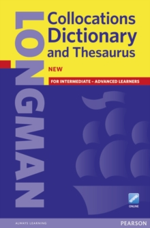 Longman Collocations Dictionary and Thesaurus Cased with online, Mixed media product Book
