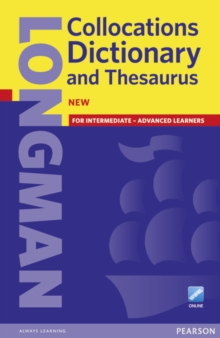 Longman Collocations Dictionary and Thesaurus Paper with Online, Mixed media product Book