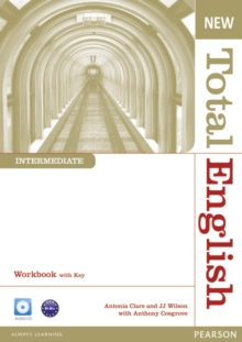 New Total English Intermediate Workbook with Key and Audio CD Pack, Mixed media product Book